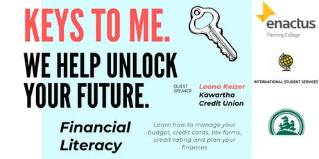 KEYS TO ME. FINANCIAL LITERACY. tickets