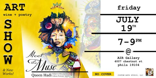 """Meet the Muse"" Art + Poetry + Wine Show"