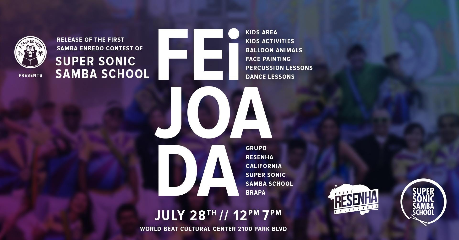 "Feijoada SSSS - ""First annual Samba Enredo contest"""