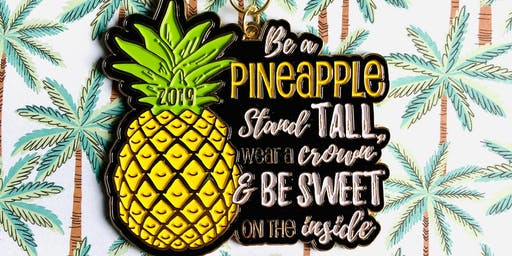 2019 The Be a Pineapple 1 Mile, 5K, 10K, 13.1, 26.2 -Orlando