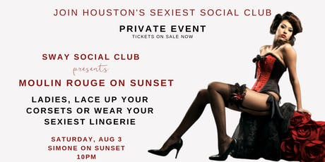 Moulin Rouge! - A Sway Social Club Party tickets