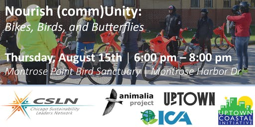 Nourish (comm)Unity: Bikes, Birds, and Butterflies