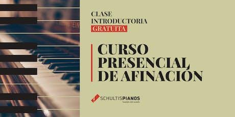 Introducción a la Afinación de Pianos - Clase Gratuita - 25 de Julio entradas