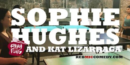 Sophie Hughes at RamaPong