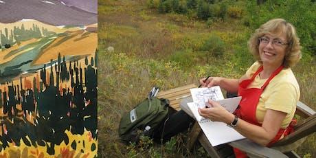 Watercolour Plein Air Workshop with Karin Richter tickets