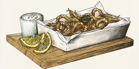 Cook and DrINK: How to Prep and Cook California Bait Squid  tickets