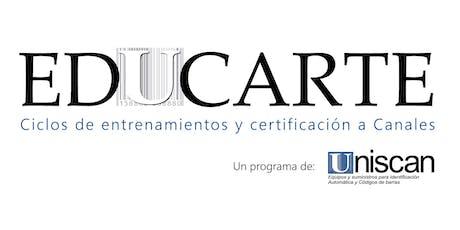 Educarte / Certificación Impresión Zebra / Quito entradas