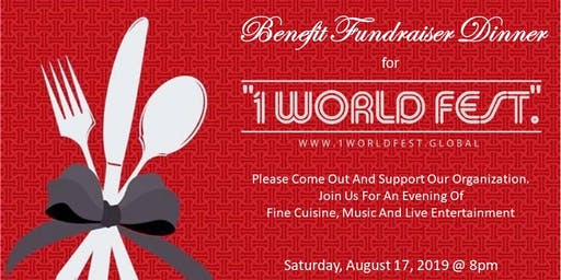 Birthday Party/Fundraiser Event for 1WorldFestGlobal