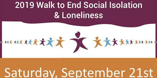 2019 Walk to End Social Isolation