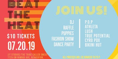 BEAT THE HEAT - FUNdraiser + Fashion for Pile Of Puppies
