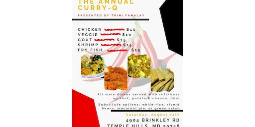 TRINI FAMALAY PRESENTS ANNUAL CURRY Q COOK OUT