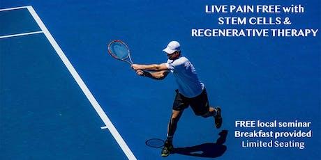 Free Seminar on Stem Cells & Regenerative Therapy tickets