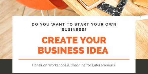 Creating Your Successful Business Idea - Workshop & Coaching