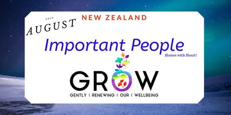 New Zealand GROW August 2019 tickets