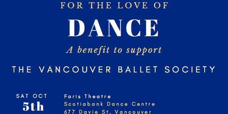 For The Love of Dance 2019 tickets