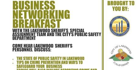 Business Networking Breakfast tickets