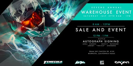 Seven's Annual Warehouse Event tickets