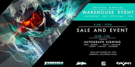Seven's Annual Warehouse Event
