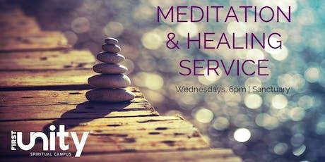 Wednesday Night Meditation and Sound Healing Service tickets