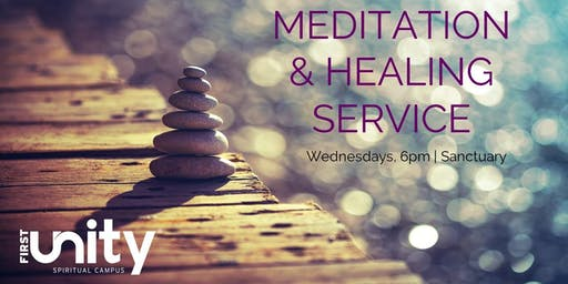 Wednesday Night Meditation and Sound Healing Service