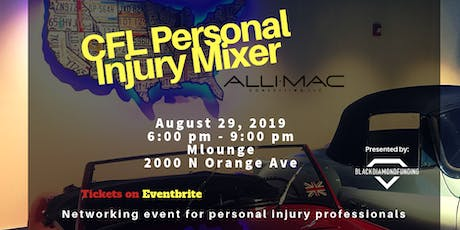 CFL Personal Injury Mixer tickets