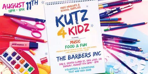 Kutz 4 Kidz 7th Annual; Free Haircuts & School Supplies