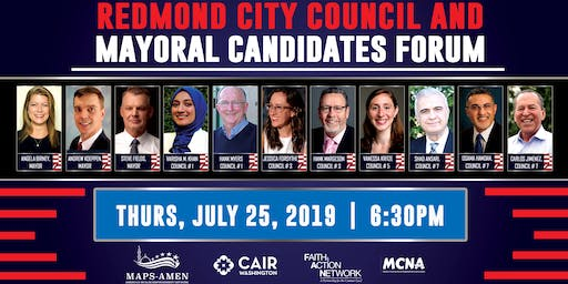 Redmond City Council & Mayoral Candidates Forum