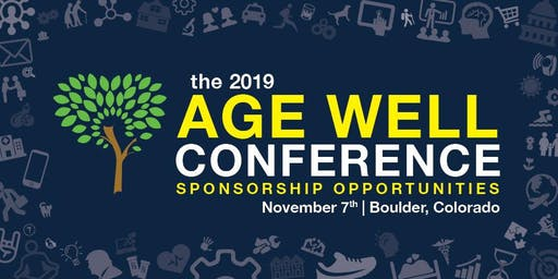 2019 Age Well Conference Sponsorships