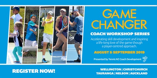 Game Changer Coach Workshop Series 2019 - Nelson
