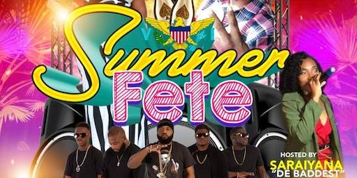 Summer Fete Featuring Venemous Poison Band