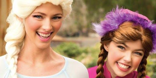 Visit with Anna & Elsa at Kendra Scott!