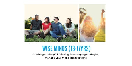 Wise Minds: Mood management for 13-17yr olds tickets