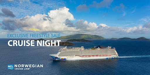 Freestyle Sale Cruise Night featuring Norwegian Cruise Line - Austin