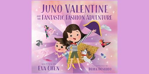 Eva Chen's Book Signing: Juno Valentine and the Fantastic Fashion Adventure
