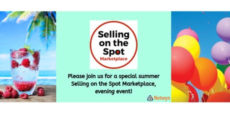 Selling on the Spot Marketplace - Scarborough - Evening Event tickets