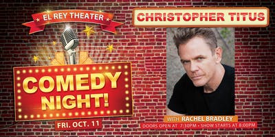 Comedy Night! ft. Christopher Titus - Chico, CA