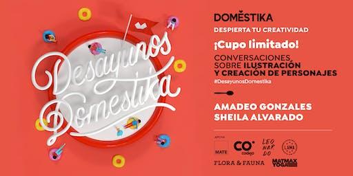 Desayunos Domestika: ilustración con Amadeo Gonzales & Sheila Alvarado