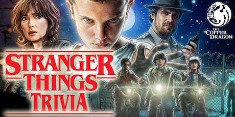 Stranger Things Trivia Night tickets