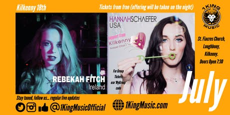 Hannah Schaefer (USA) & Rebekah Fitch (IRL) - Kilkenny. tickets