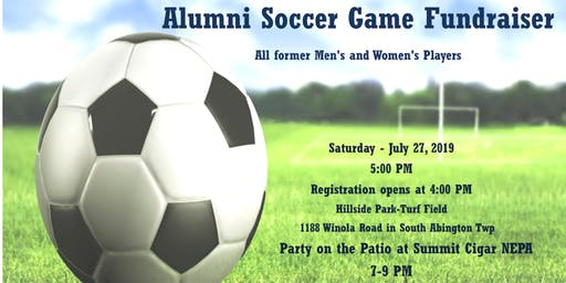 Abington Heights 3rd Annual Alumni Soccer Game 2019