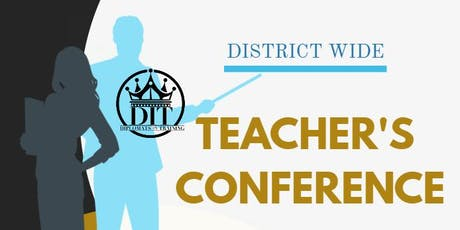 Teacher's Conference tickets