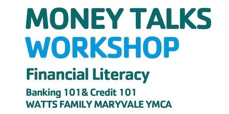 Money Talks-Financial Literacy Workshop  tickets