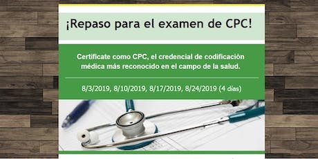 CPC Exam Review Course tickets