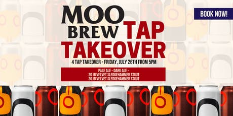 Moo Brew Tap Takeover! tickets