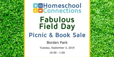 2019 Fabulous Field Day! Including: Picnic, Trunk Sale, & New Parent Orientation