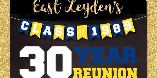 East Leyden Class of 1989 30th Year Reunion