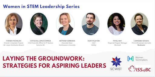 Laying the groundwork: strategies for aspiring leaders