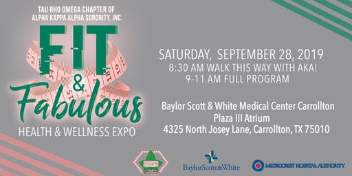 Fit & Fabulous Health & Wellness Expo