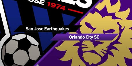 ASCE YMF San Jose, Earthquakes Game tickets