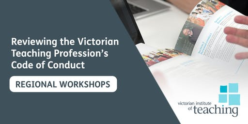 Code Review Workshop (Mildura) - Victorian Institute of Teaching